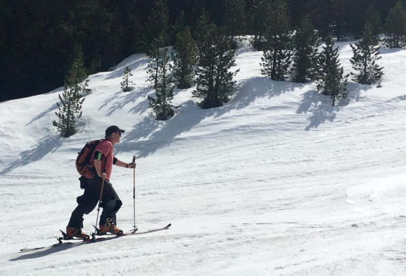 Ski touring in the Tirol, April 2019