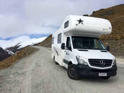 Skiing New Zealand by RV