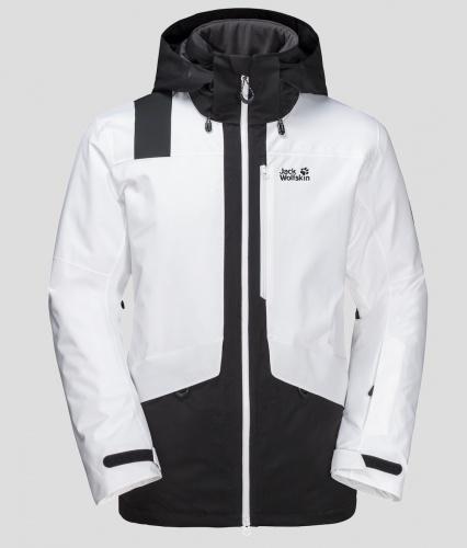 Jack Wolfskin Big White Jacket £290.. in black and white